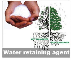 Water retaining agent